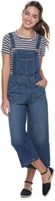 American Rag Juniors' Wide Leg Denim Overalls