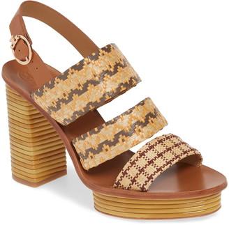 Tory Burch Patos Slingback Platform Sandal