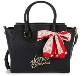Love Moschino Logo-Ribbon Shoulder Bag