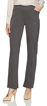 Chic Classic Collection Women's Petite Knit Pull on Pant