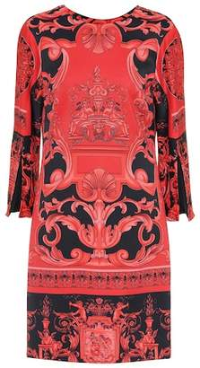 Versace Scarf-printed dress