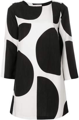 Mara Hoffman polka dot print dress