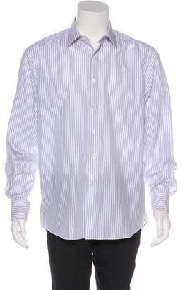 Lanvin Striped Button-Up Shirt