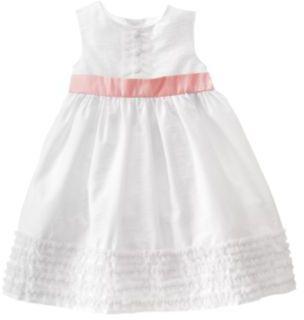 Tulle Trim Taffeta Dress