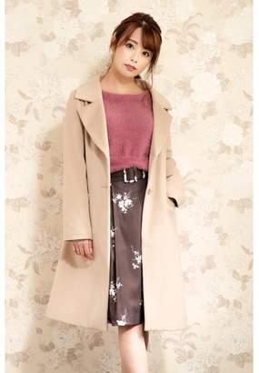 PATTERN fiona (パターンフィオナ) - パターン・フィオナ ビックカラー衿シングルコート