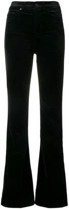 7 For All Mankind velvet flared jeans
