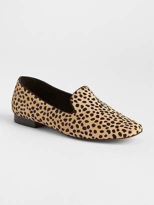 Gap Cheetah Print Loafers