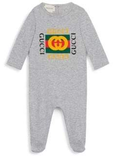 Gucci Baby's Logo Sleepsuit