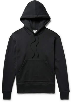 Acne Studios Fellis Loopback Cotton-Jersey Hoodie - Men - Black
