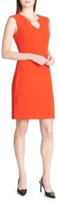 Calvin Klein Textured Sleeveless Dress