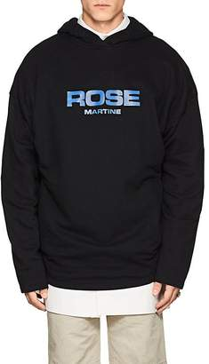 "Martine Rose Men's ""Rose Martine"" Cotton Oversized Hoodie"
