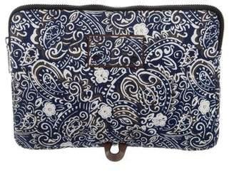 Marc Jacobs Paisley Laptop Case w/ Tags