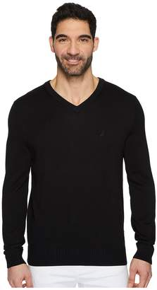 Nautica 12 Guage V-Neck Sweater Men's Sweater