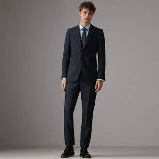 Burberry Slim Fit Wool Half-canvas Tuxedo