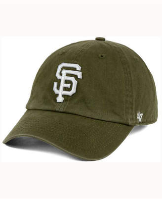 '47 San Francisco Giants Olive White Clean Up Cap
