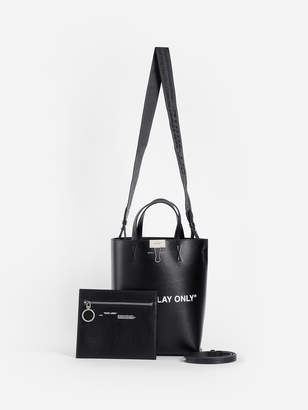 Off-White Tote Bags