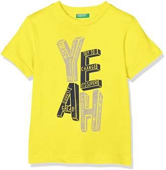 Benetton Boy's T-Shirt,(Manufacturer Size: Large)