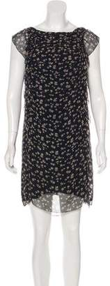 3.1 Phillip Lim Floral Print Silk Mini Dress