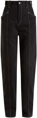 Isabel Marant Genie high-rise straight-leg jeans