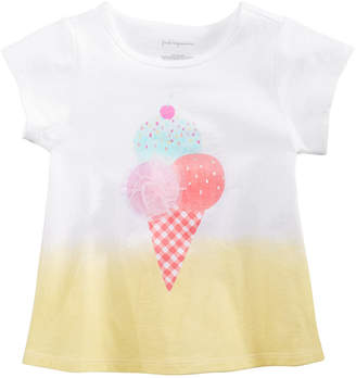 e13debff44a2 First Impressions Baby Girls Spring Graphic T-Shirt