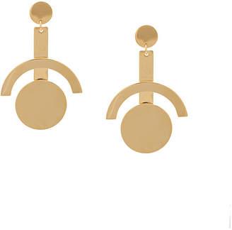 Lele Sadoughi geometric drop earrings