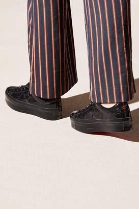 Converse One Star Patent Platform Sneaker