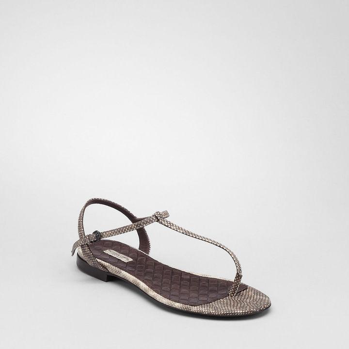 Bottega Veneta Violet karung sandal