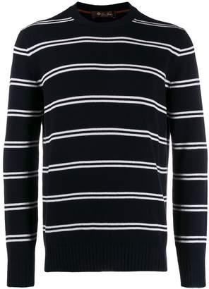 Loro Piana striped sweatshirt