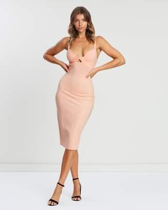 Atmos & Here ICONIC EXCLUSIVE - Porchia Twist Bodycon Dress
