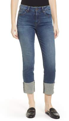 STS Blue SWAT FAME Lucia Cuffed Straight Leg Jeans