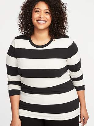 Old Navy Slim-Fit Plus-Size Striped Tee