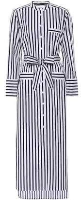 Equipment Striped cotton dress