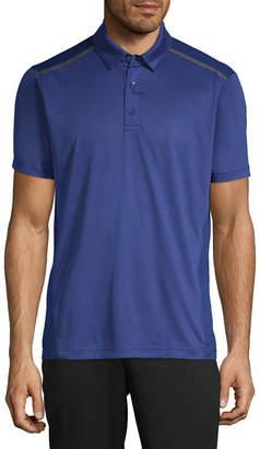 MSX BY MICHAEL STRAHAN Msx By Michael Strahan Quick Dry Short Sleeve Jersey Polo Shirt