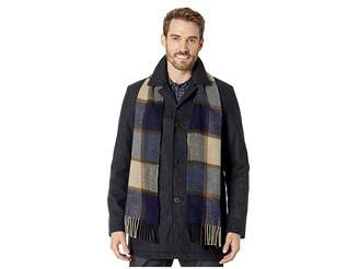 Tommy Hilfiger Wool Blend Scarf Coat Men's Coat