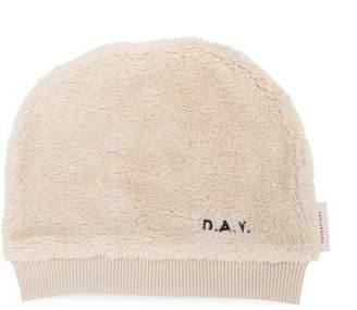 BEIGE Tiny Cottons fluffy sherpa beanie