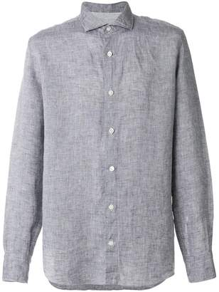 Eleventy classic fitted shirt