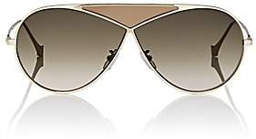 Loewe Women's Puzzle Medium Sunglasses-Pale Gold And Gradient Roviex