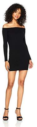 Obey Women's Binx Off The Shoulder Sweater Dress
