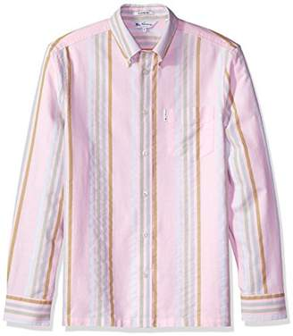 Ben Sherman Men's 60s Candy Stripe Archive Shirt
