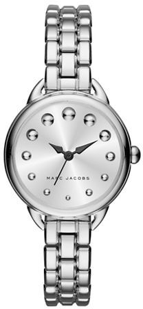 Marc Jacobs Marc Jacobs Betty Sunray Dial Stainless Steel Bracelet Watch, SLMLG28SSBRCWHDI