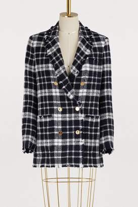 Thom Browne Tartan wool jacket