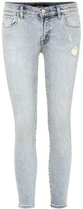 J Brand Low-rise cropped jeans