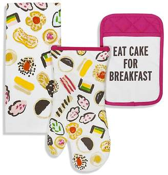 Kate Spade Eat Cake For Breakfast 3-Piece Gift Set