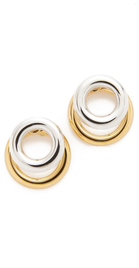 Alexander WangAlexander Wang Double Ring Earrings