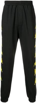 Kappa side logo track trousers