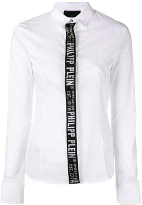 Philipp Plein brand detail shirt