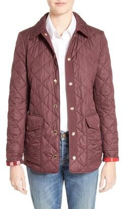 Women's Burberry Westbridge Quilted Jacket