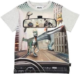 Molo Printed Cotton Interlock T-Shirt