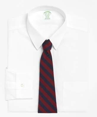 Brooks Brothers Milano Slim-Fit Dress Shirt, Non-Iron Tab Collar