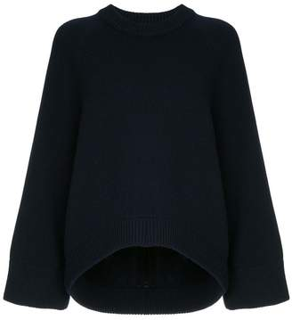 Tibi round neck sweater